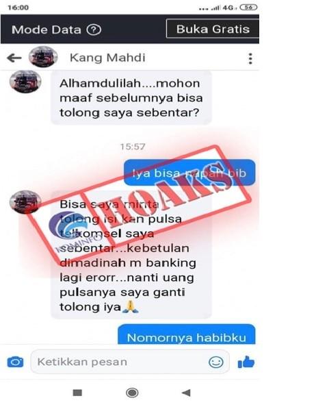 Akun Facebook Mengatasnamakan Wakil Ketua Komisi B DPRD Jatim