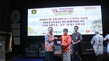 Dinkominfo Ikuti Forum Pembangunan dan Investasi Purworejo di Jakarta