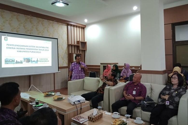 Dinas Kominfo Ikuti Evaluasi SAKIP Pemkab Purworejo