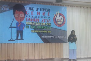 Sosialisasi Pencegahan Triad KRR Melalui Stand Up Comedy