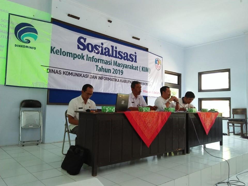 Belum Ada KIM, Kecamatan Pituruh Jadi Target Sosialisasi