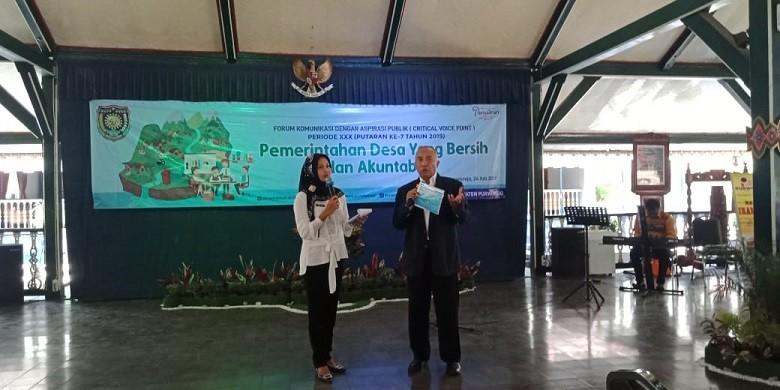 Dinkominfo Dorong Penyelenggaraan Pemerintahan Desa yang Bersih dan Akuntabel