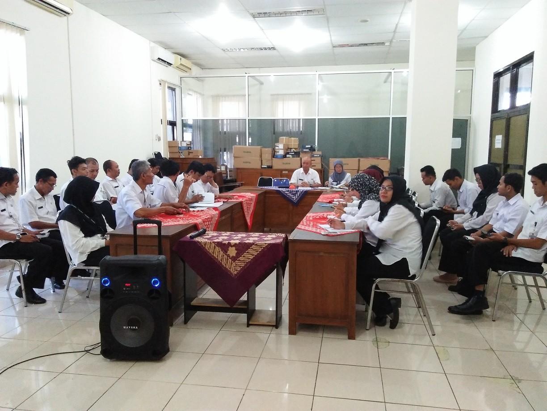 Evaluasi Kinerja, Diskominfo Purworejo Adakan Rapat Evaluasi