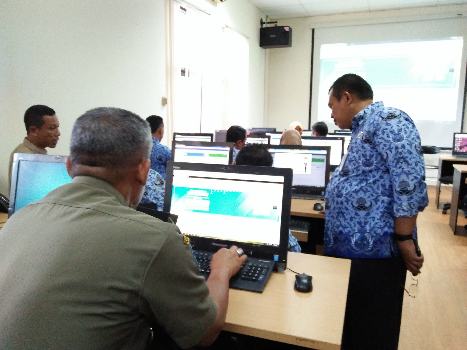Pelatihan Aplikasi TNDE Kepada Camat Se Kabupaten Purworejo