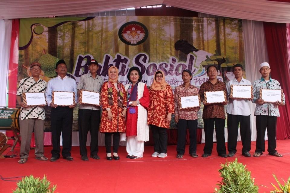 DWP  Kabupaten Purworejo Kerahkan Bantuan Kepada Warga Kaligesing