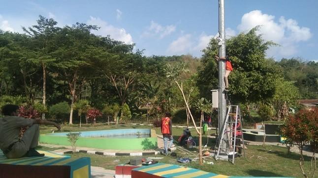 Dinkominfo Kabupaten Purworejo Pasang CCTV Di Area Publik