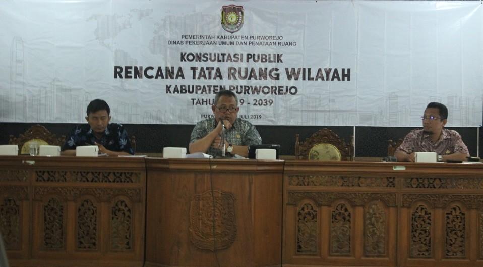 Dinkominfo Hadiri Konsultasi Publik Rencana Tata Ruang Kabupaten Purworejo