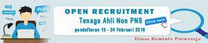 Rekrutment Non PNS Dinas Kominfo Purworejo