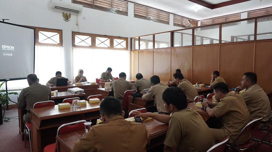 Tim Wasdal Menara Telekomunikasi Studi Banding Regulasi Ke Dinas Kominfo Bantul