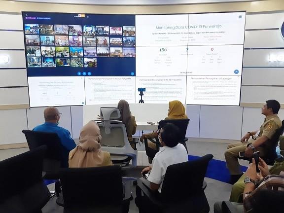 Koordinasi Vidcon Bapak Gubernur dengan 35 Kepala Dinkes dan 59 Direktur RS Rujukan se Jateng